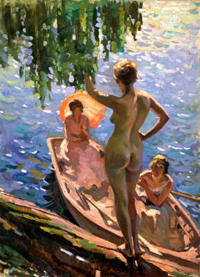 Summer Morn, Page, Evelyn, 1929, 70/64