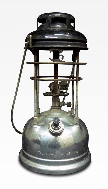 Kerosene lamp 1745 waitomo caves discovery centre on for Wooden kerosene lamp holder