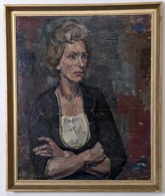 Portrait of Patricia St John (Lady Bolingbroke) ; Alan Pearson; c. 1963; 2012.006