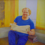 Portrait of Peter Hawes ; Robyn North King; 1986; 2015.001