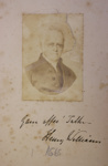 Henry Williams ; Unknown; 1865; 2013.002