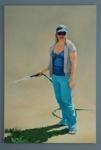 The Blue Girl ; Irene Ferguson; 2007; 2008.002