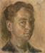 Self Portrait c. 1947; Melvin Day; c. 1947; 2015.005