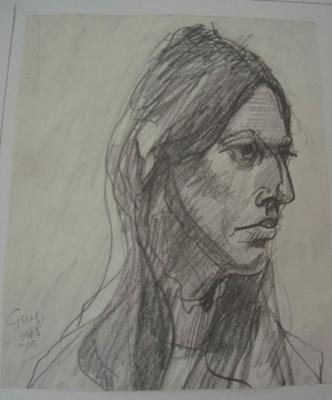 Girl 1970; Alan Pearson; 1970; 2013.018
