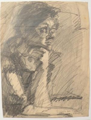 English art teacher; Alan Pearson; 1981; 2013.040