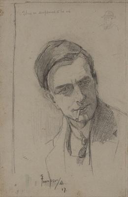Self Portrait ; Sydney Lough Thompson; 1917; 2008.004