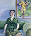 Lucy in Her Green Dress ; Marianne Muggeridge; 1999; 2009.008