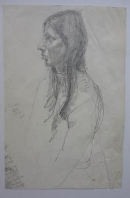 Girl 1970; Alan Pearson; 1970; 2013.019