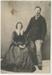 Photograph, Studio photograph of Benjamin and Janet Bailey; Nicholas Brothers; 1869-1882; RI.P1.92.13