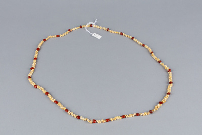 Necklace, Pupu shell and seed; Unknown maker; Pre 2006; RI.RT209