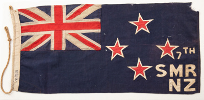 Flag, New Zealand; Unknown maker; 1914; RI.MY94.94
