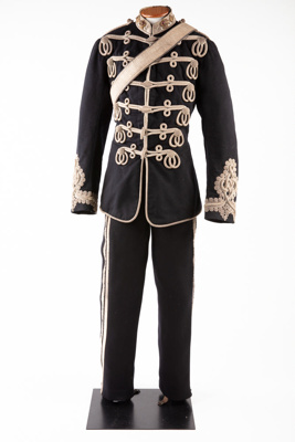 Uniform, Southland Hussars ; Hobson and Sons; 1880-1881; RI.W2009.3027