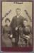 Photograph, Carte de visite, Studio photograph of three Brown siblings; Campbell, Charles; 1888-1900; RI.P3.92.42