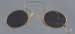 Spectacles, Pince-nez, spring bridge ; Unknown maker; 1870-1910; RI.W2001.73