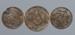 Brooch, Three Egyptian coins; Unknown maker; 1914-1918; RI.W2001.112