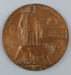 Memorial Plaque (Dead Man's Penny), George Sampson; British Royal Arsenal; 1920-1922; RI.W2002.1713