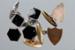 Cufflinks, Three pairs; Unknown maker; 1940-1980; RI.W2001.108