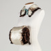 Muff and Collar, Penguin Feathers; Unknown maker; 1893; RI.W2011.3082
