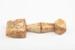 Sail Maker's Seam Rubber, Whalebone; Unknown maker; 1858; RI.W2002.1472