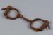 Handcuffs; Unknown maker; 1860-1870; RI.W2002.1199