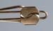 Tie clip, Rolled gold ; Unknown maker; 1950-1970; RI.W2001.111