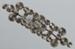 Brooch, Brass and rhinestone; Unknown maker; 1920-1930; RI.W2001.45