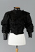 Bodice, Black silk and lace; 1880-1890; RI.CL96.146