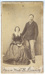 Photograph, Benjamin and Janet Bailey; Nicholas Brothers; 1869-1882; RI.P1.92.12