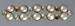 Brooch, Brass with rhinestones and imitation pearls; Unknown maker; 1920-1930; RI.W2001.47