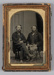 Photograph, Ambrotype, George Fryett and Thomas Small; Unknown photographer; 1855-1870; RI.P181.00.3354