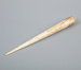 Marlinspike, whalebone; Unknown maker; 1800-1900; RI.W.2002.1467