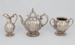 Trophy, Agricultural, Tea set, Port Phillip Farmer's Society to J and M Mackintosh; Angell, George; 1856; RI.W2009.3031