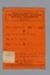 Card, R.S.A Membership, Arthur William Robb; Returned Services Association (R.S.A.); 1947; RI.W2014.3579.8