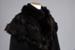 Cape, Woman's, Black woollen; Unknown maker; 1880-1900; RI.CL94.76
