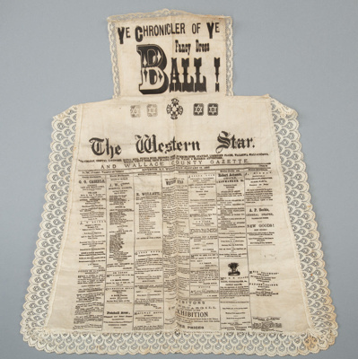 Apron, Western Star ; Unknown maker; RI.TL94.08