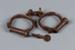 Handcuffs, Hiatt Best ; Hiatt Best; 1840-1860; RI.W2002.1198