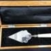Trowel, ceremonial; WWW Whittaker & Coy Ltd; 1937; 2021.192.01.1-.2