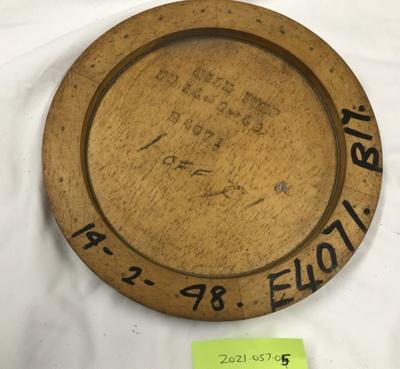 Pattern, Wooden; A & G Price Ltd; 2021.057.05