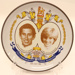 Butter Pat - to commemorate marriage of H.R.H The Prince of Wales & Lady Diana Spencer, July 1981. ; 2012 207