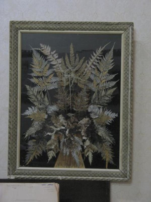 Picture made from ferns, 5