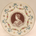 Cake Plate - To Celebrate The 80th Birthday of H.M. Queen Elizabeth The Queen Mother August 4th 1980; Royal Doulton; 2012 226