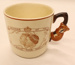 Coffee cup - King George VI & Queen Elizabeth Royal Tour of New Zealand & Australia 1949; Brentleigh Ware; 2012 152