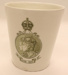 Beaker - King Edward VII 'The Kings Coronation Dinner'; Royal Doulton; 1902; 2012 031
