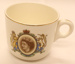 Teacup - Queen Elizabeth II - To Commemorate The Royal Tour 1953/54; Royal Harvey; 2012 192C