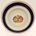 Cake Plate - King George VI & Queen Elizabeth Coronation 1937; Woods Ivory Ware; 2012 149B