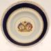 Cake Plate - King George VI & Queen Elizabeth Coronation 1937; Woods Ivory Ware; 2012 149B