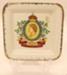 Butter Pat - H.M. Queen Elizabeth II; Thomas Hughes & Son Ltd; 2012 057B