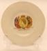 Butter Pat - Coronation of Queen Elizabeth II June 2nd 1953; Brentleigh Ware; 2012 154B