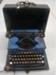 Typewriter and case; 2014.5