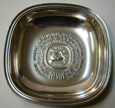 Bon Bon dish from 1966 commemorating the Nestle ce...